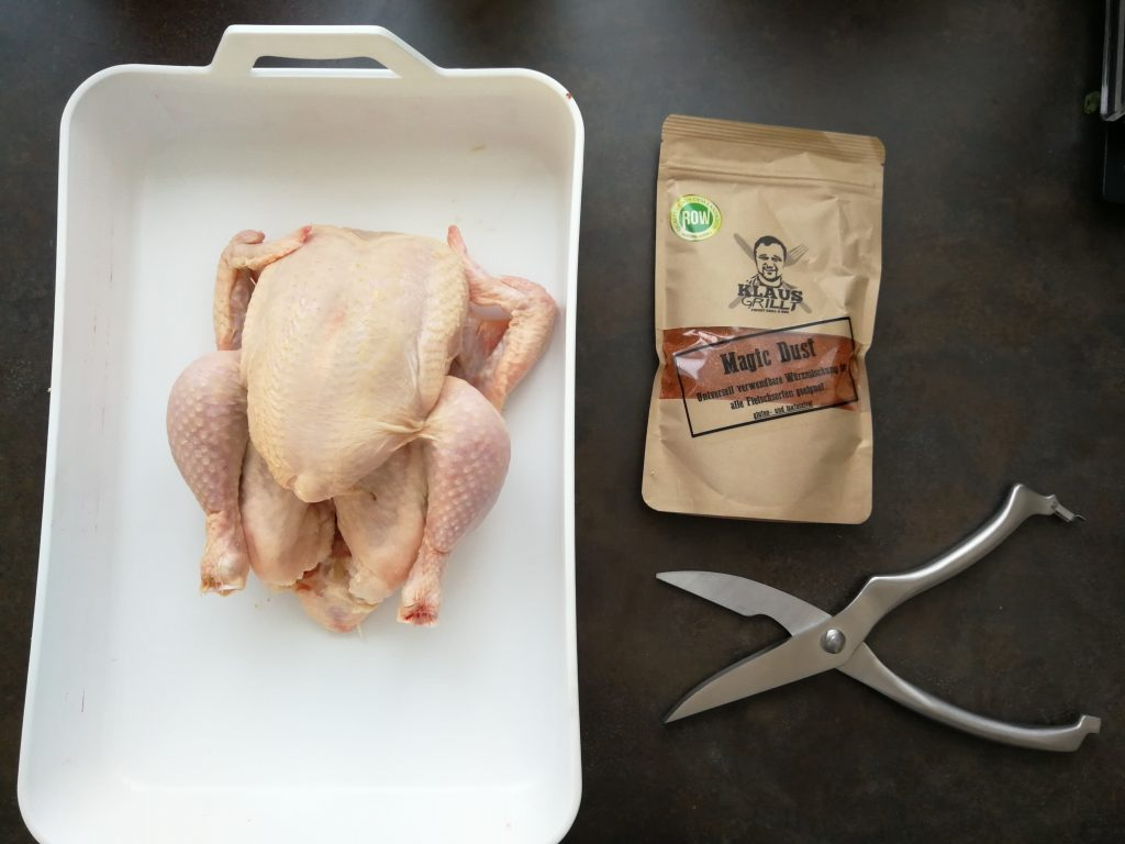 Aloha BBQ Chicken Vorbereitung