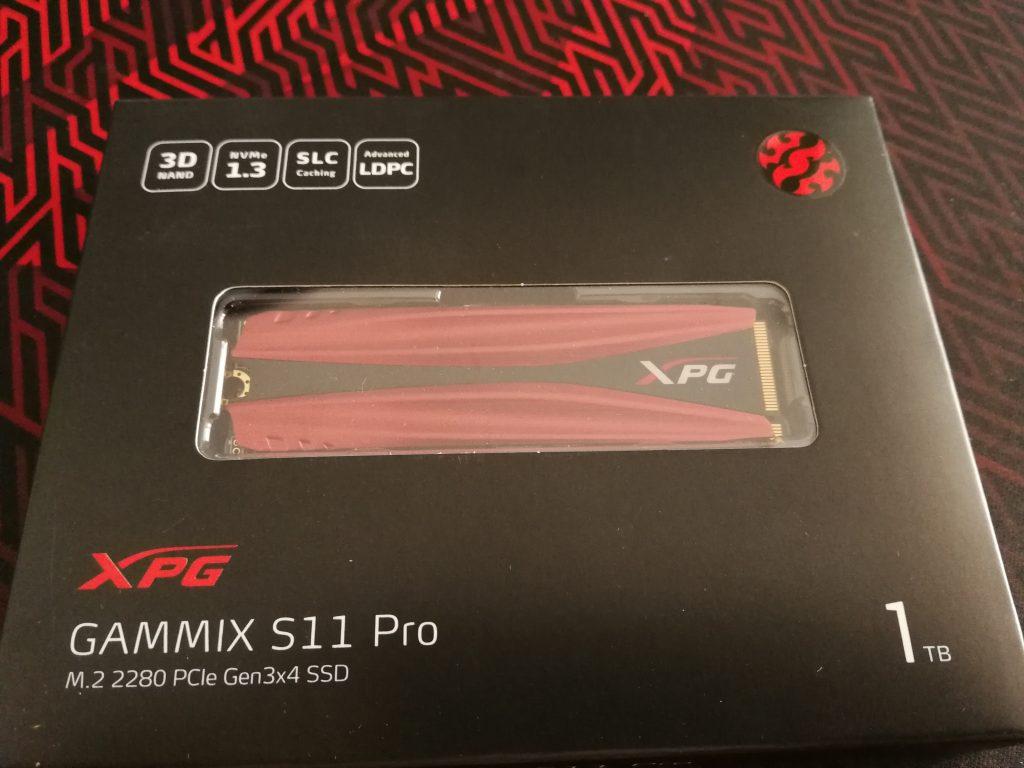 XPG Gammix S11 Pro verpackt